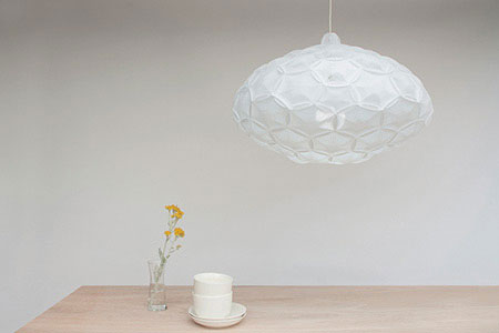 Airy Light Collection is inspired by organic nature of the clouds